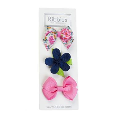 英國Ribbies綜合緞帶3入組(Alexandra)-廠