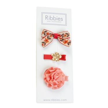 英國Ribbies綜合緞帶3入組(Annabelle)-廠
