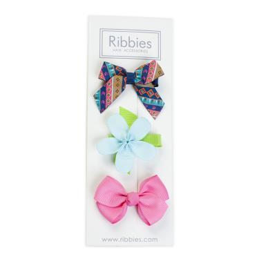 英國Ribbies綜合緞帶3入組(London)-廠