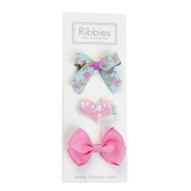 英國Ribbies綜合緞帶3入組(Nora)-廠