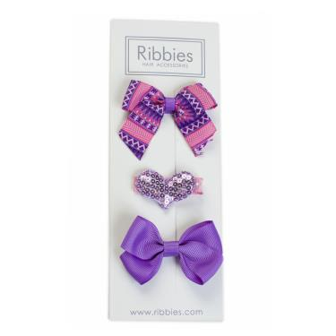 英國Ribbies綜合緞帶3入組(Sophia)-廠