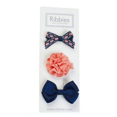 英國Ribbies綜合緞帶3入組(Mabrey)-廠