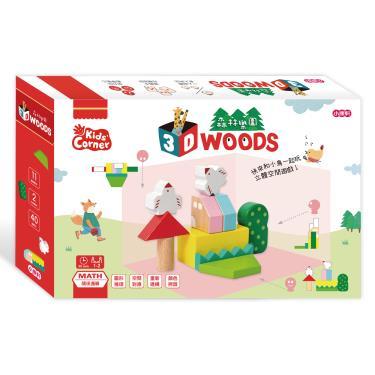 小康軒 【數學遊戲寶盒】3D森林樂園【生活數學系列】