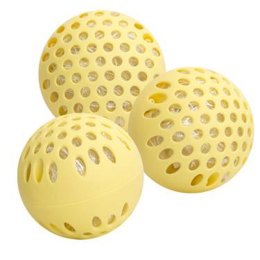 meekee 銀立潔 Ag+活性抑菌除臭洗衣球(3入組) 共兩色隨機出貨 (廠送)