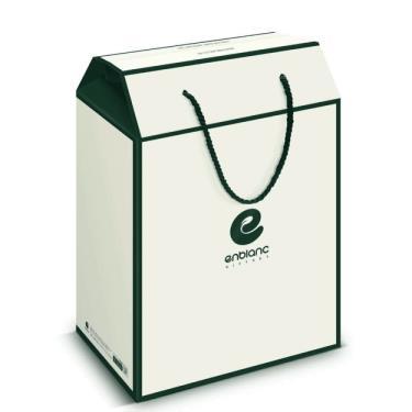 韓國ENBLANC 精裝禮盒 - 雅緻白(空盒)-廠送