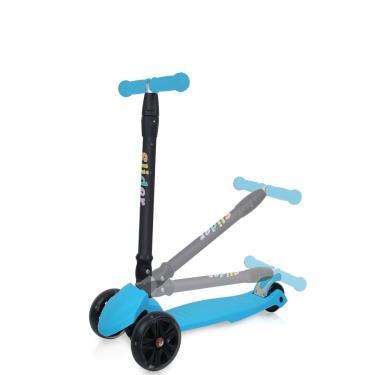 Slider 滑來滑趣折疊滑板車XL1藍 廠送