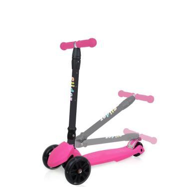 Slider 滑來滑趣折疊滑板車XL1螢光粉紅 廠送