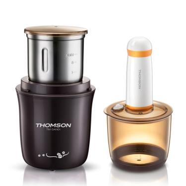 【THOMSON】不鏽鋼磨豆機*真空保鮮* (TM-SAN01) -廠送