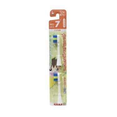 日本 Hapica 幼兒電動牙刷用補充刷頭2入組(軟毛)