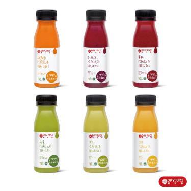 Day Juice 果日飲 冷壓鮮榨蔬果汁纖活1-6號 (6入)廠送