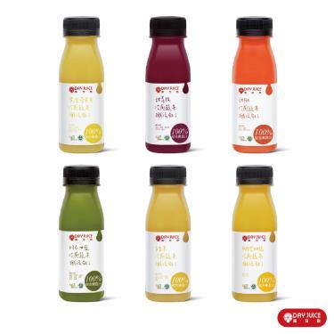 Day Juice 果日飲 冷壓鮮榨蔬果汁纖活7-12號 (6入)廠送