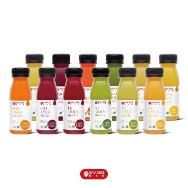 Day Juice 果日飲 冷壓鮮榨蔬果汁纖活1-12號 (12入)廠送