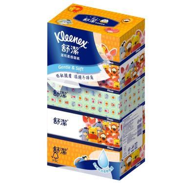 (2箱領卷折$100)舒潔  迪士尼溫和柔感盒裝面紙140抽x5盒x10串(箱購) 活動至09/30