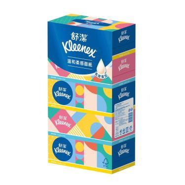 (2箱領卷折$100)舒潔  溫和柔感盒裝面紙160抽x5盒x10串(箱購) 活動至09/30