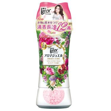 Lenor蘭諾 衣物芳香豆(甜花石榴香)520ml/瓶