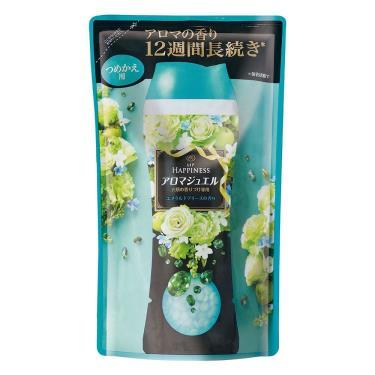 Lenor蘭諾 衣物芳香豆補充包(清晨草木)455ml/包
