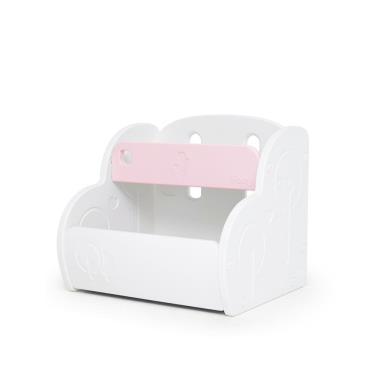 韓國iFam 多功能玩具收納櫃-粉紅色-廠