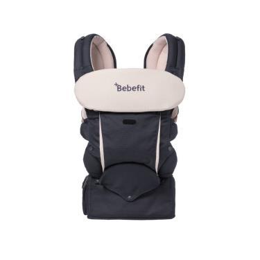 Bebefit原創款 智能嬰兒揹帶-海軍藍(贈全套口水巾組)-廠送