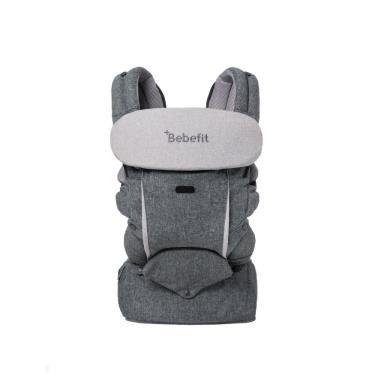 Bebefit 原創款 智能嬰兒揹帶-永恆灰-廠送