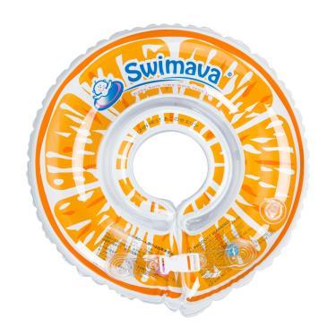 英國 Swimava G1鮮橙嬰兒游泳脖圈-廠