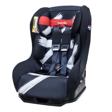 法國Nania 納尼亞 0-4歲安全汽座/汽庫安全座椅 筆刷紅 (廠)