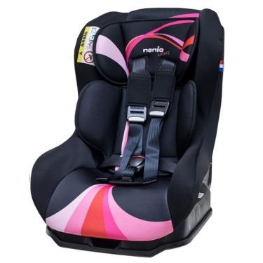法國Nania 納尼亞 0-4歲安全汽座/汽庫安全座椅  彩虹粉 (廠)