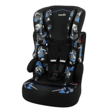 法國Nania 納尼亞 成長型安全汽座/汽車安全座椅 幻彩藍 (廠)
