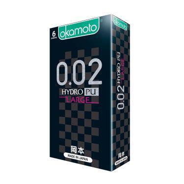 Okamoto岡本 002L舒適 Hydro水感勁薄 衛生套(6入裝)