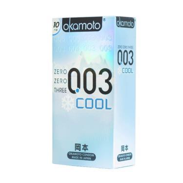 Okamoto岡本 003COOL冰炫 衛生套(10入裝)