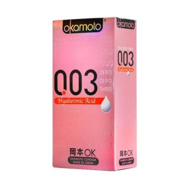 Okamoto岡本 003HA玻尿酸 衛生套(10入裝)