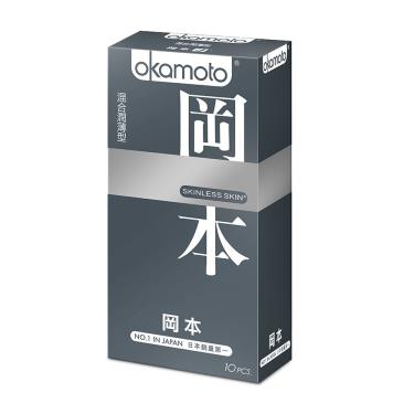 Okamoto岡本 Skinless Skin 混合潤薄型 衛生套(10入裝)