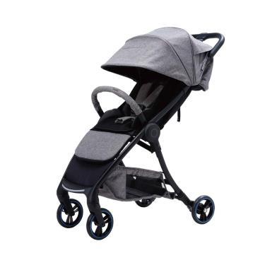 Combi AuraStar 智能嬰兒手推車 銀狐灰-廠