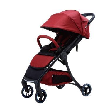 Combi AuraStar 智能嬰兒手推車 石榴紅-廠