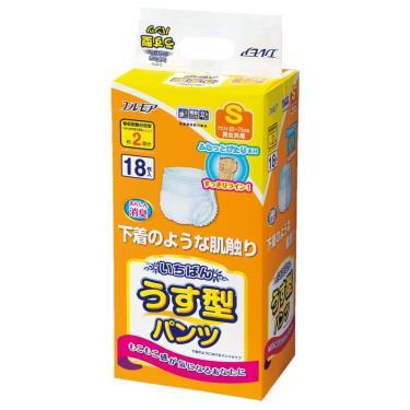 日本一番 成人活力褲S號18片x4包/箱(廠送)