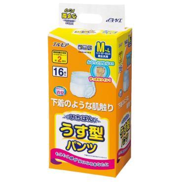 日本一番 成人活力褲M-L號16片x4包/箱(廠送)