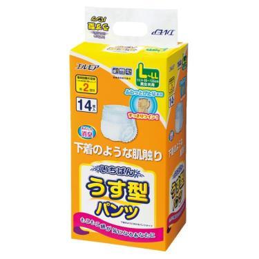 日本一番 成人活力褲L-LL號14片x4包/箱(廠送)