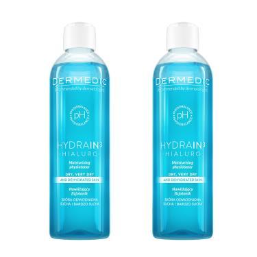 波蘭 得美媞DERMEDIC 玻尿酸超水感舒緩保濕化妝水200mlx2入組(廠送)
