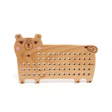 荷蘭Petit Monkey經典木玩-小熊穿穿樂(3Y+)-廠