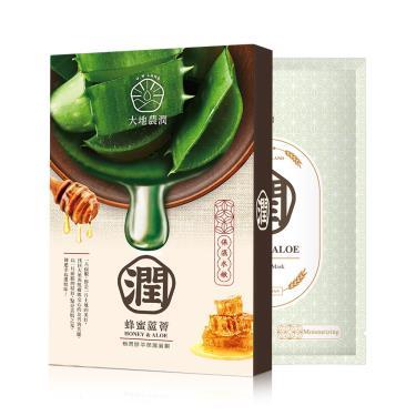 大地農潤 極潤鮮萃蜂蜜蘆薈保濕面膜5入