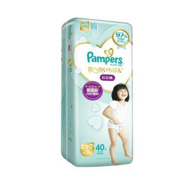 (2箱送媽媽包)幫寶適 一級幫拉拉褲XL120片(40片x3包)-箱購 活動至09/30
