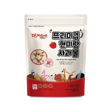 韓國Dr.Nature米博士 動物嘉年華 蘋果球球餅 30g