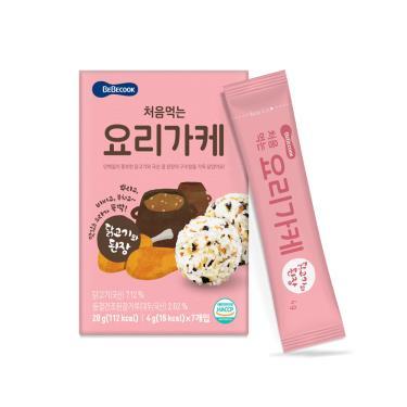 韓國BEBECOOK寶膳 初食拌飯香鬆 雞肉味噌(4gX7包)