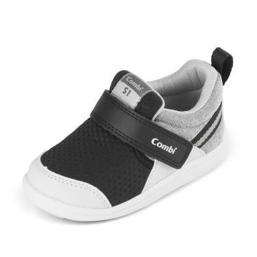 Combi-NICEWALK醫學級成長機能鞋C2103BK-18.5(黑)-18724 (廠)