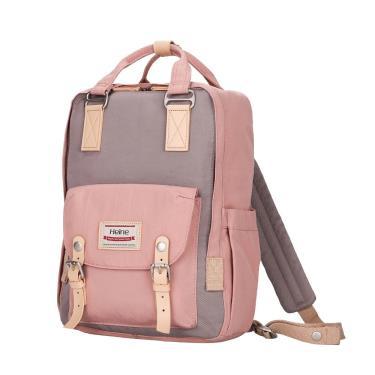【Heine 海恩】WIN-191多功能多口袋媽媽包 後背包(玫瑰粉薰衣紫)-廠送