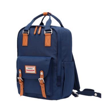 【Heine 海恩】WIN-191多功能多口袋媽媽包 後背包(藏藍色)-廠送