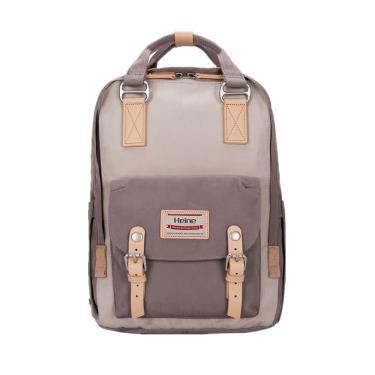 【Heine 海恩】WIN-191多功能多口袋媽媽包 後背包(象牙灰色)-廠送