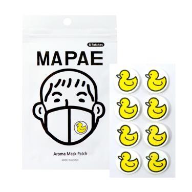 韓國 MAPAE 黃小鴨口罩香氛貼片 /8入